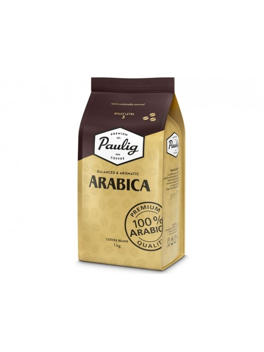 Kavos pupelės Paulig Arabica 1 kg