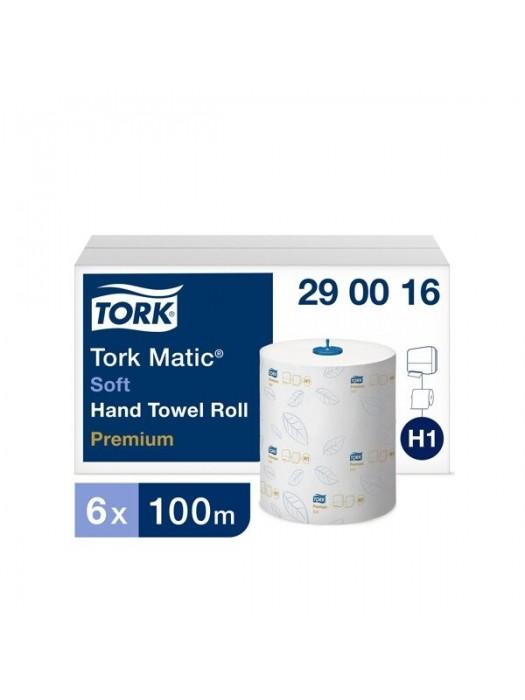 Popieriniai rankšluosčiai TORK PREMIUM EXTRA SOFT H1, 290016